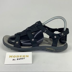 Merrell Strapped Hiking Sandals Womens Sz 8